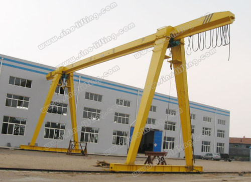 Gantry Crane with Electric Hoist MH Type 3.2~12.5t